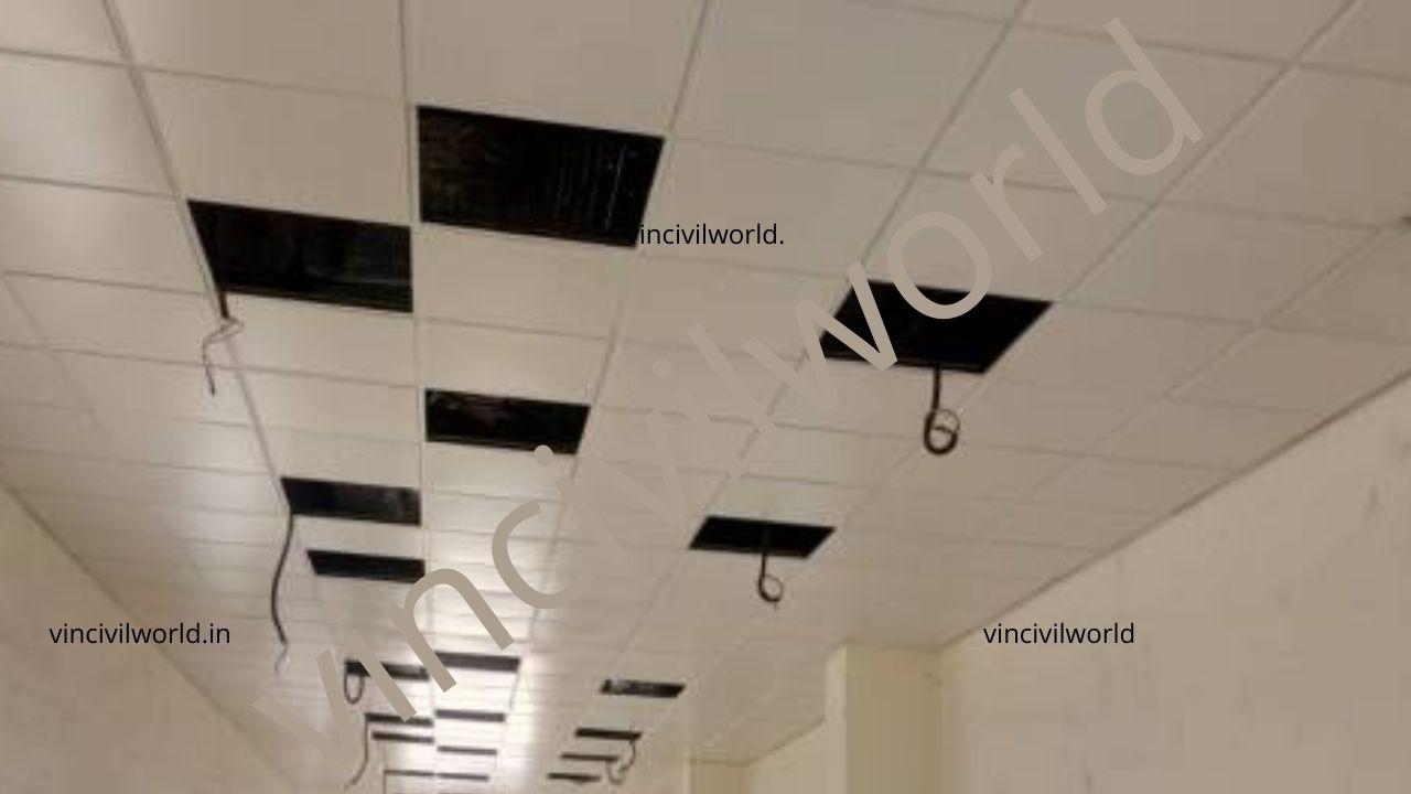 Lay in type Metal false ceiling
