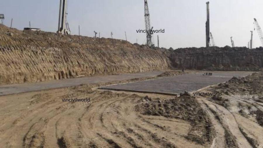 Plain cement concrete