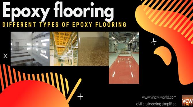 epoxy floor ,types of epoxy floor.