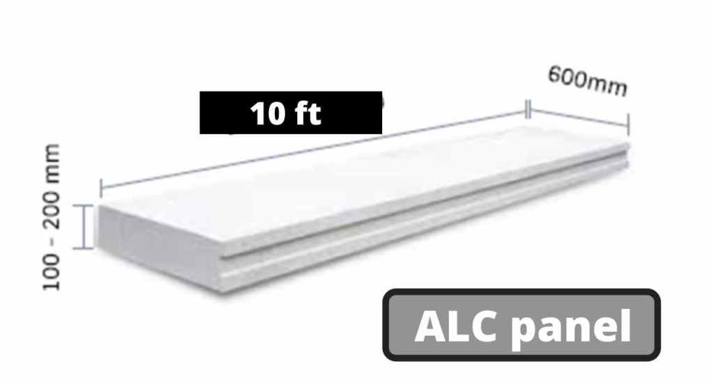 ALC Panel - Aerated Light weight concrete panels