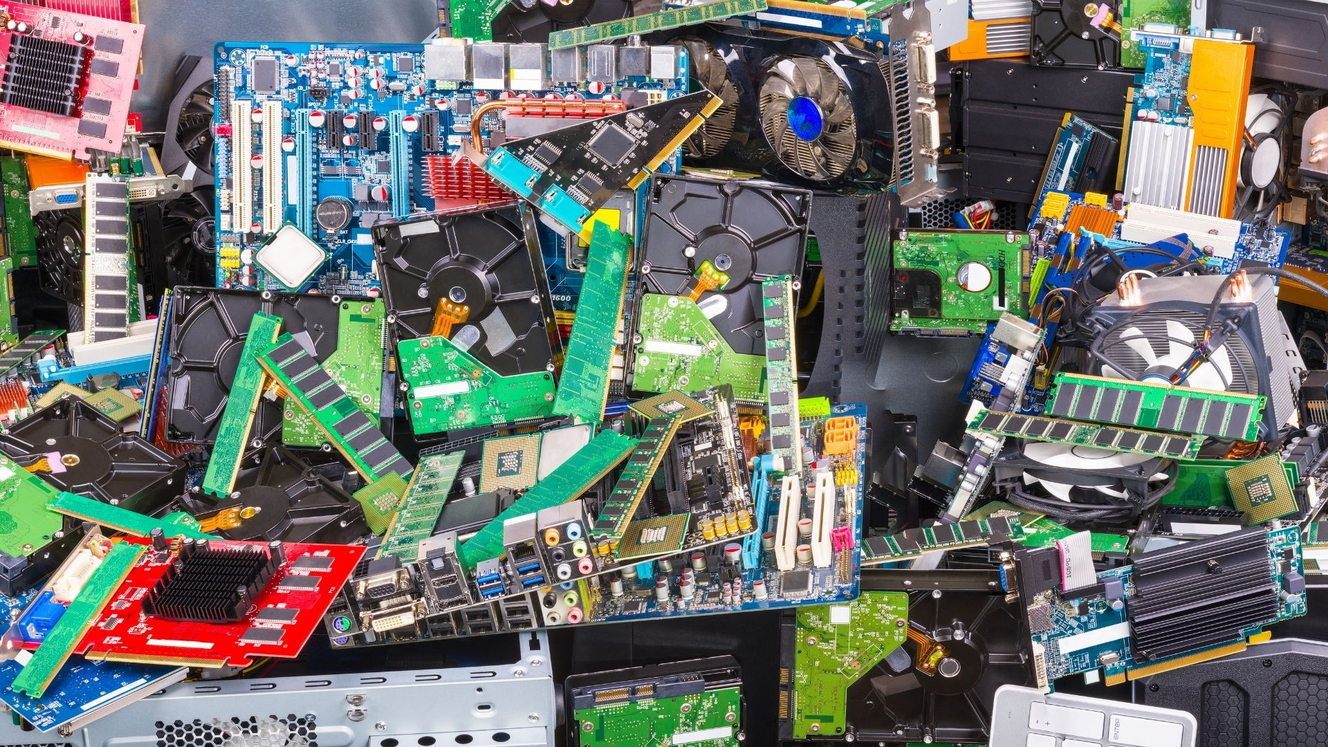 Types of E wastes