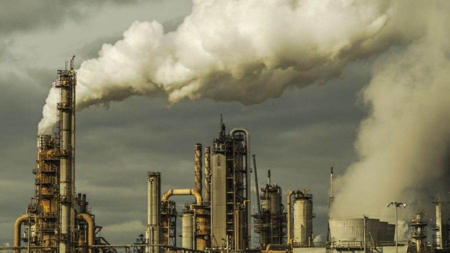 sulphur dioxide Pollution- Petroleum refinery