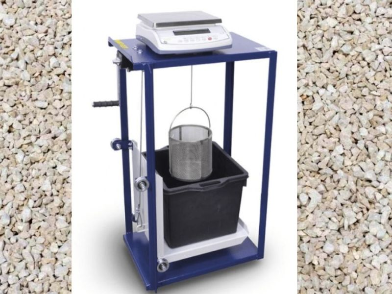specific gravity and water absorption test on aggregate